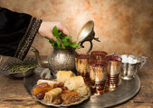 Arabian hospitality — Stock Photo