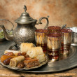 Stock Photo: Moroccan hospitality