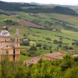 Montepulciano church — Stock Photo