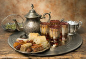 Moroccan hospitality — Stock Photo