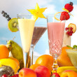 Smoothie party — Stock Photo