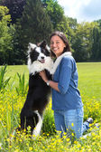Hond vriendschap — Stockfoto