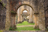 Ancient Orval Abbey — Stock Photo