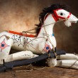 Antique horse marionette — Stock Photo