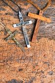 Catholic crosses — Stock Photo