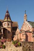 Kostel eguisheim — Stock fotografie