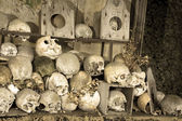 Marville ossuary — Stock Photo