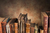 Old books with copy space — Stock Photo