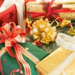 Stock Photo: Wrapped presents