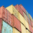 Stock Photo: Container traffic