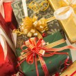Stock Photo: Colorful presents
