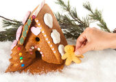 Gingerbread party — Stock Photo