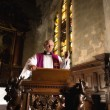 Stock Photo: Preaching on pulpit
