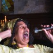 Stock Photo: Singing for Lord