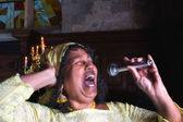 Singing for the Lord — Stock Photo