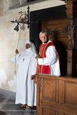 Början av katolska massa — Stockfoto