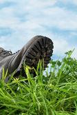 Huella ecológica — Foto de Stock