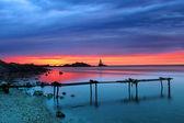 Lighthouse sunrise — Stock Photo