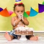 Baby first birthday — Stock Photo #43044149
