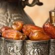 Dates at Ramadan time — Stock Photo