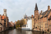 Ancient town of Bruges — Stock Photo