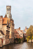 Classic view of Bruges — Stock Photo