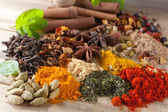 Closeup of beautiful spices — Stock Photo