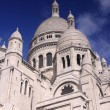 Stock Photo: Sacré-Coeur Church, Montmartre, Paris.