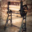 Old Laundry Mangle — Stock Photo
