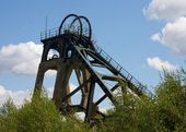 Pleasley Colliery Nature Reserve — ストック写真