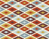 Seamless ikat pattern #2 — Stockvektor