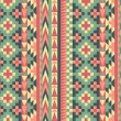 Stock Vector: Seamless navajo pattern #1