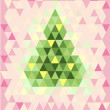Royalty-Free Stock : Xmas card with abstract christmas tree #2