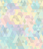 Seamless geometric pattern in pastel tints #2 — Stock Vector