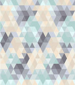 Seamless geometric pattern in pastel tints #1 — Stock Vector