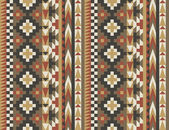 Seamless navajo pattern #2 — Vector de stock