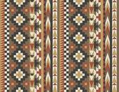 Seamless navajo pattern #2 — Stock Vector