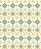 Seamless aztec pattern in light tints — Stock Vector