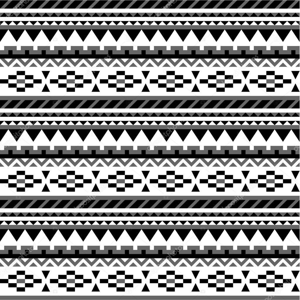 transparente motif azt que en noir et blanc 1 image. Black Bedroom Furniture Sets. Home Design Ideas