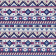 Vector de stock : Seamless native americpattern