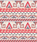Seamless pattern in traditional american style — Stock Vector