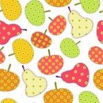 Autumn fruits ornament — Stock Vector #12101529