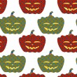 Royalty-Free Stock Vector Image: Pumpkins seamless ornament