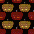 Bright Halloween ornament — Stockvectorbeeld