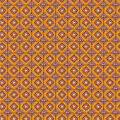 Orange geometrical pattern — Vecteur