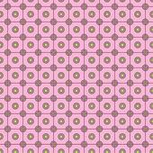 Rosa patrón geométrico — Vector de stock