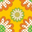Sunflowers pattern — Grafika wektorowa
