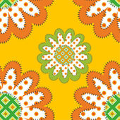 Sunflowers pattern — Vettoriale Stock