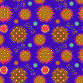 New year pattern — Stock Vector