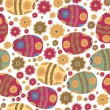 Seamless Easter ornament — Vettoriale Stock #21858127
